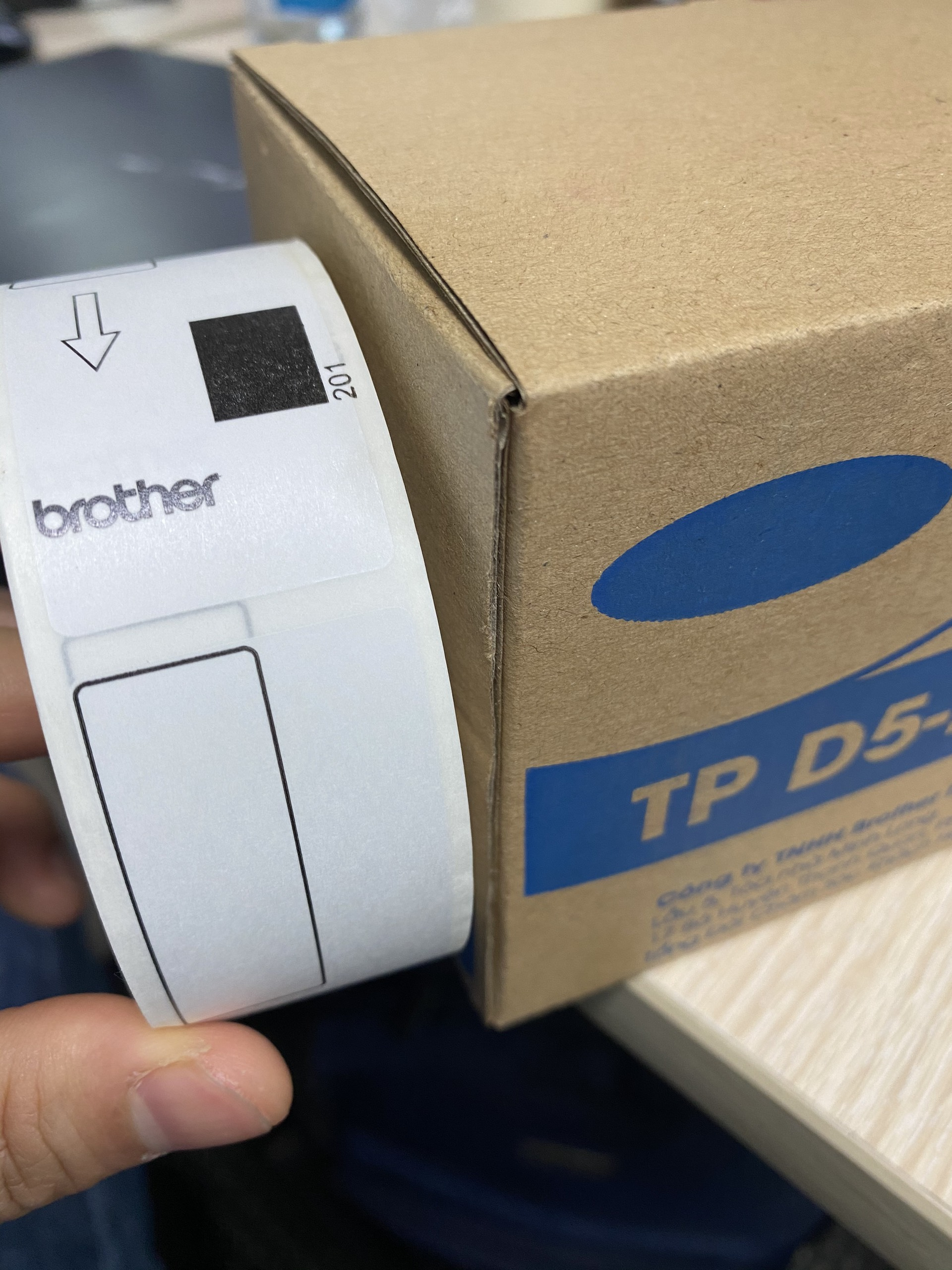 Nhãn in TP D5-2990(S)